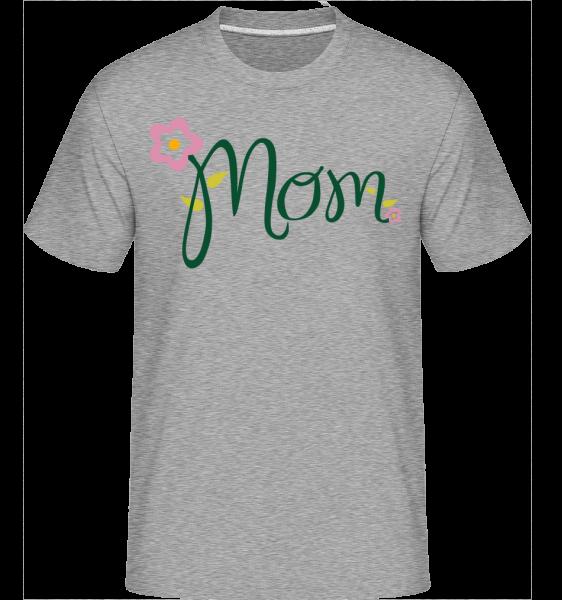 Mom Flower -  Shirtinator Men's T-Shirt - Heather grey - Vorn