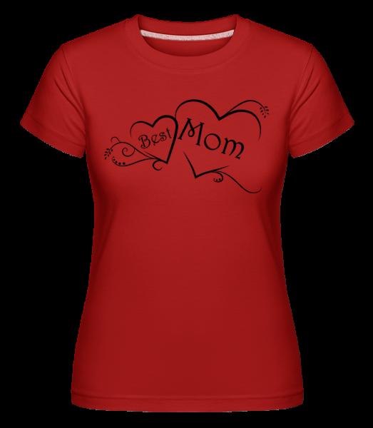 Best Mom -  Shirtinator Women's T-Shirt - Red - Vorn