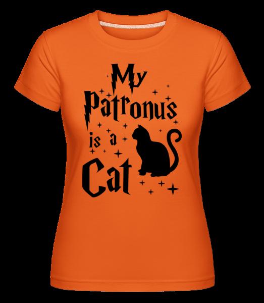 My Patronus Is A Cat -  Shirtinator Women's T-Shirt - Orange - Vorn