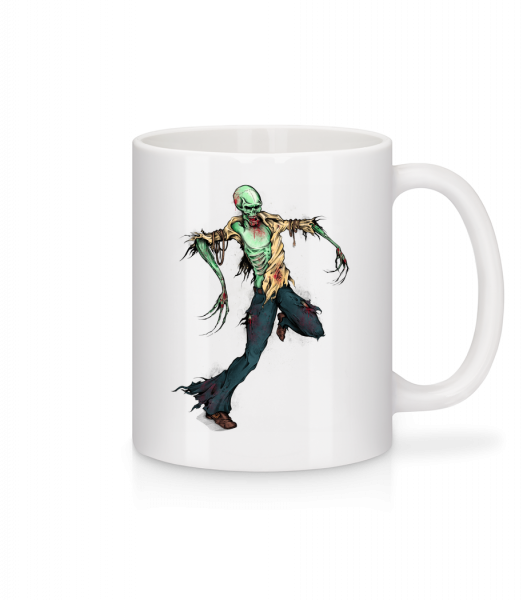 Creepy Zombie - Mug - White - Vorn