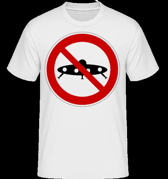 Ufos Forbidden - Shirtinator Men's T-Shirt - White - Vorn