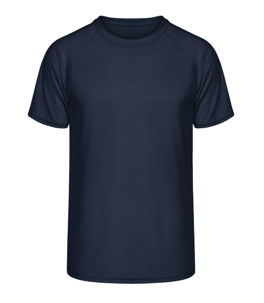 Fit Performance T-shirt - Navy - Vorn