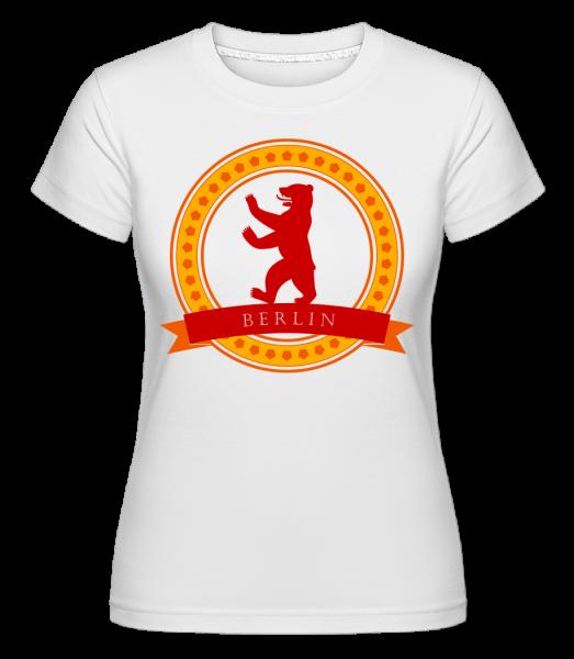 Berlin Bear Icon - Shirtinator Women's T-Shirt - White - Vorn