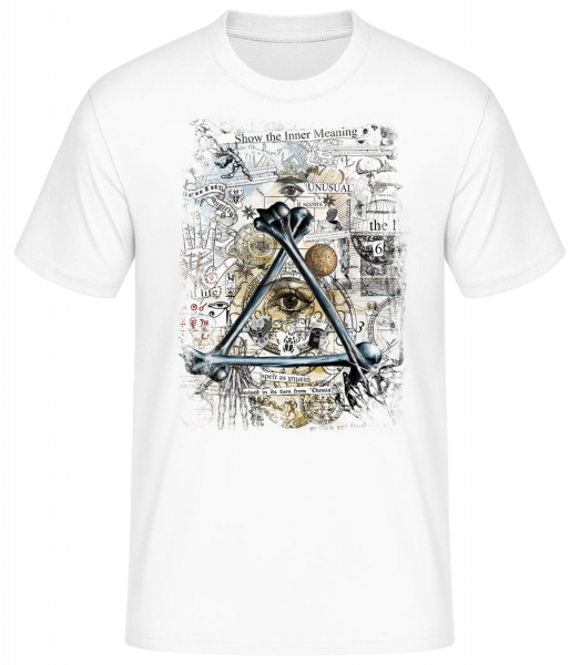 Show The Inner Meaning - Men's Basic T-Shirt - White - Vorn