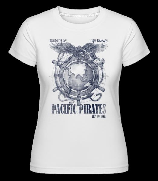 Pacific Pirates -  Shirtinator Women's T-Shirt - White - Vorn