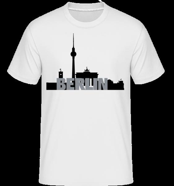 Berlin Germany - Shirtinator Men's T-Shirt - White - Vorn