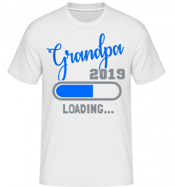 Grandpa 2019 Loading -  Shirtinator Men's T-Shirt - White - Vorn