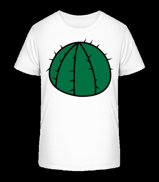 Cactus Comic - Kid's Premium Bio T-Shirt - White - Vorn