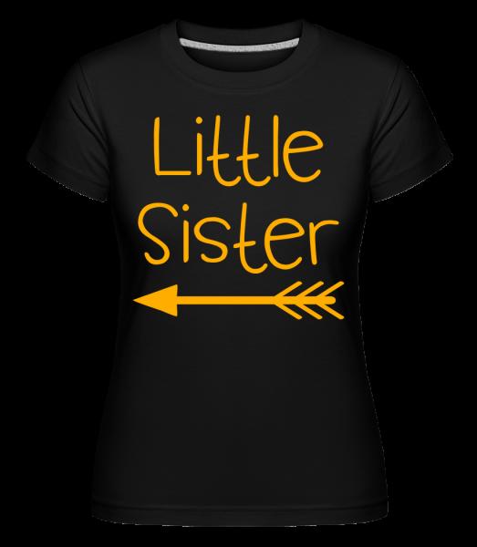 Little Sister - Shirtinator Women's T-Shirt - Black - Vorn