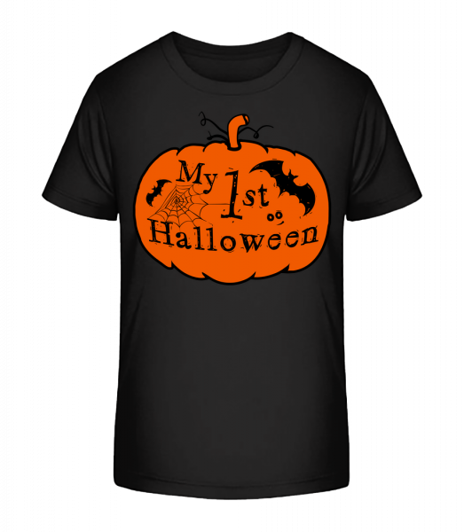 My First Halloween - Kid's Premium Bio T-Shirt - Black - Vorn