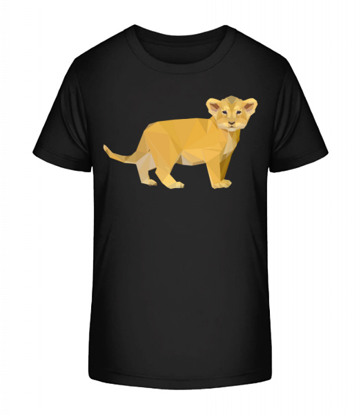 Little Lion - Kid's Premium Bio T-Shirt - Black - Vorn
