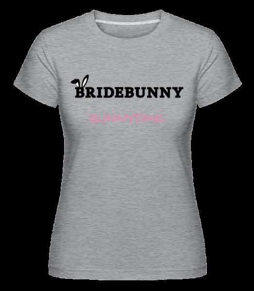 Bridebunny Bunnytime -  Shirtinator Women's T-Shirt - Heather grey - Vorn
