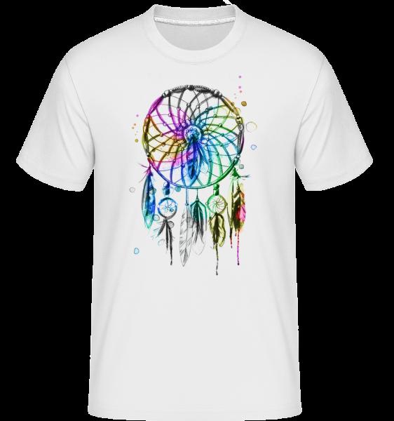 Mystical Dream Catcher - Shirtinator Men's T-Shirt - White - Vorn