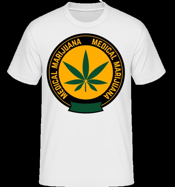 Medical Marijuana -  Shirtinator Men's T-Shirt - White - Vorn