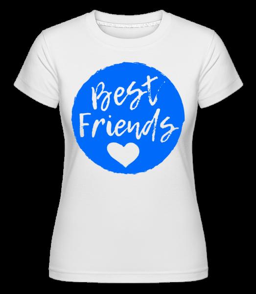 Best Friends Love -  Shirtinator Women's T-Shirt - White - Vorn