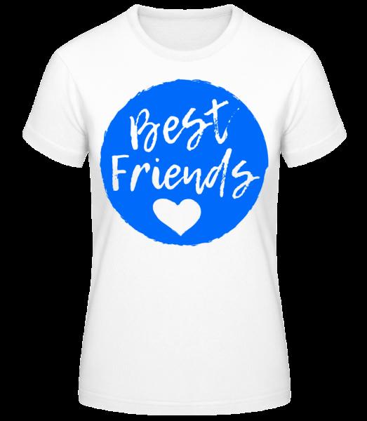 Best Friends Love - Basic T-Shirt - White - Vorn