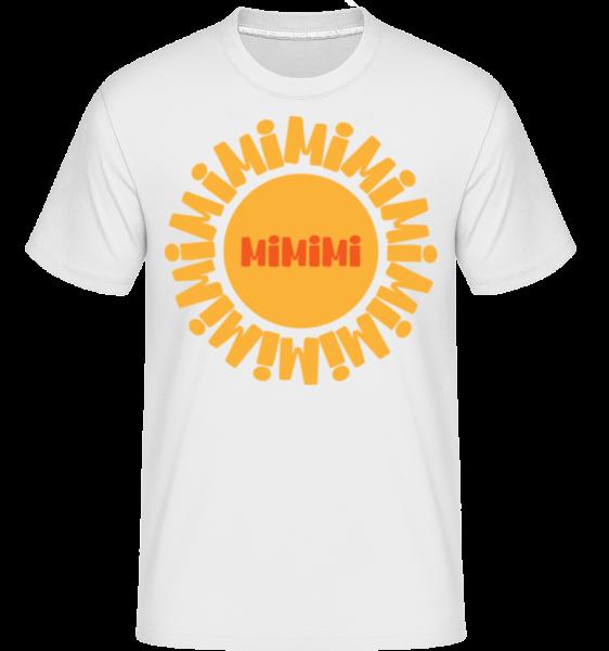 Mimimi - Shirtinator Men's T-Shirt - White - Vorn