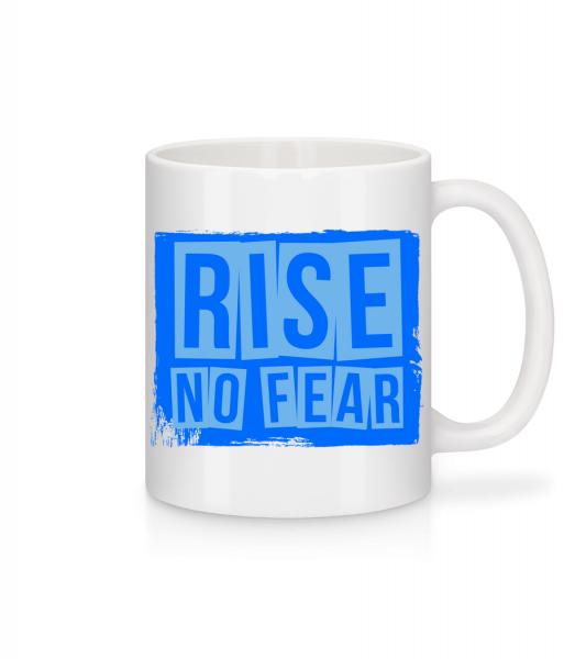 Rise No Fear - Mug - White - Vorn