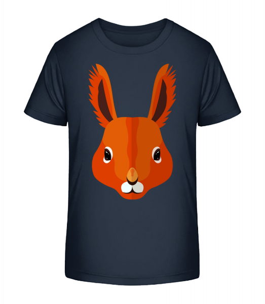 Squirrel Comic - Kid's Premium Bio T-Shirt - Navy - Vorn
