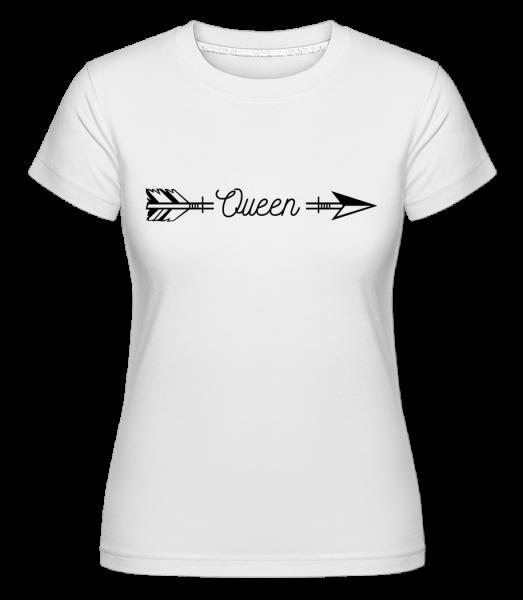Queen Arrow - Shirtinator Women's T-Shirt - White - Vorn