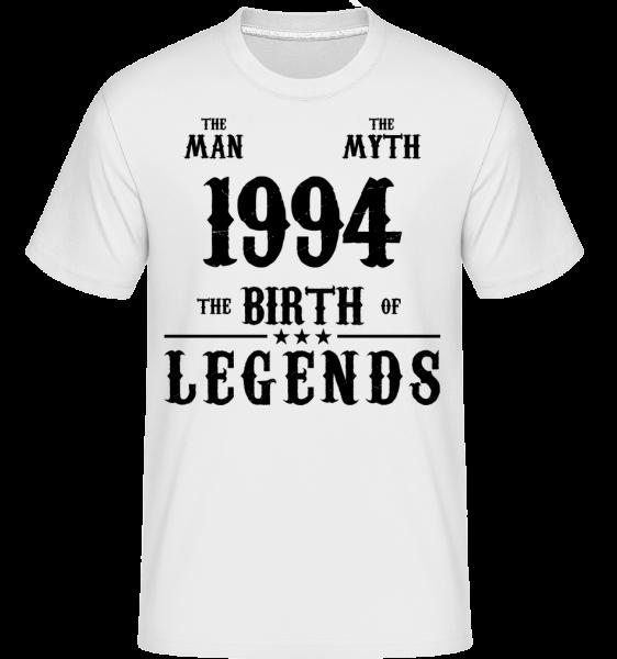 1994 The Man Myth - Shirtinator Men's T-Shirt - White - Vorn
