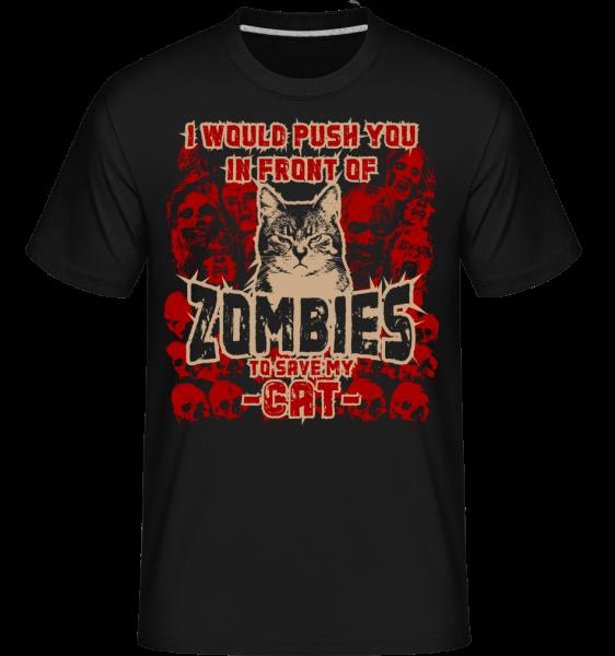 Save My Cat - Shirtinator Men's T-Shirt - Black - Vorn
