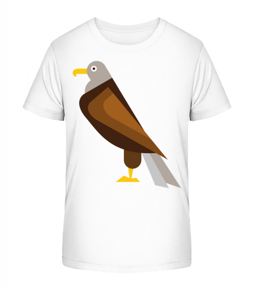 Eagle Comic - Kid's Premium Bio T-Shirt - White - Vorn