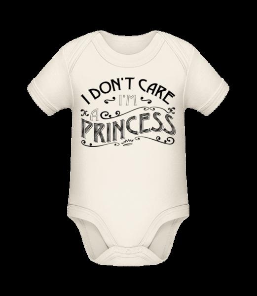 I Don't Care I'm A Princess - Organic Baby Body - Cream - Vorn
