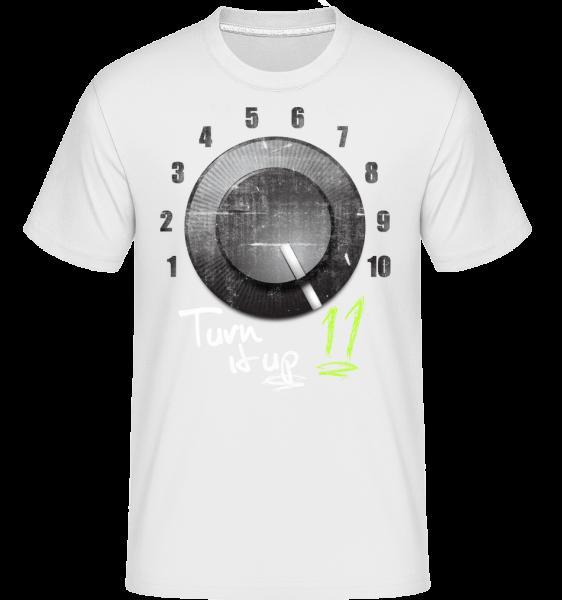 Turn It Up - Shirtinator Men's T-Shirt - White - Vorn