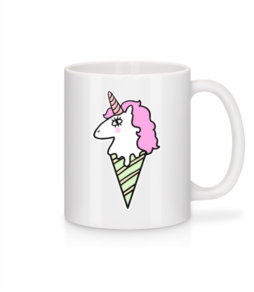 Unicorn Ice Creme - Mug - White - Vorn