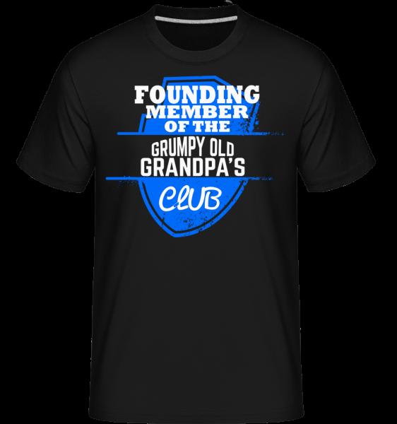 Grumpy Old Grandpas Club -  Shirtinator Men's T-Shirt - Black - Vorn