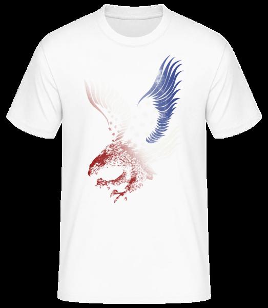 American Eagle - Men's Basic T-Shirt - White - Vorn