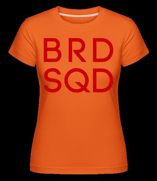 Bride Squad - Shirtinator Women's T-Shirt - Orange - Vorn