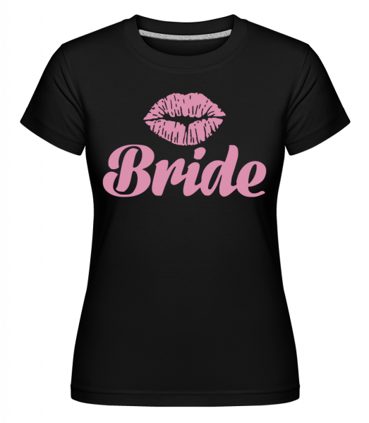 Bride Kiss - Shirtinator Women's T-Shirt - Black - Vorn