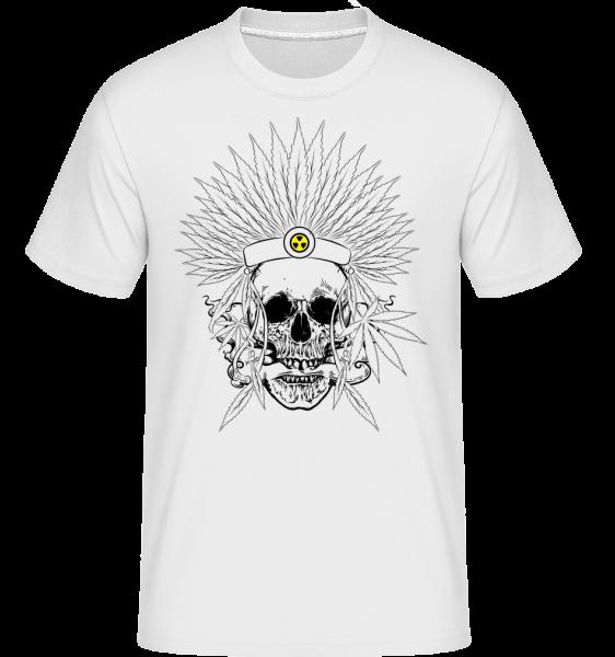 Skull Tattoo -  Shirtinator Men's T-Shirt - White - Vorn