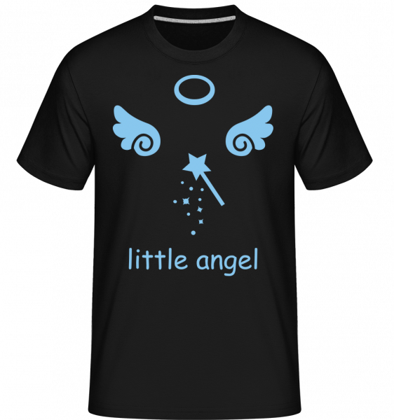 Little Angel Wings -  Shirtinator Men's T-Shirt - Black - Vorn