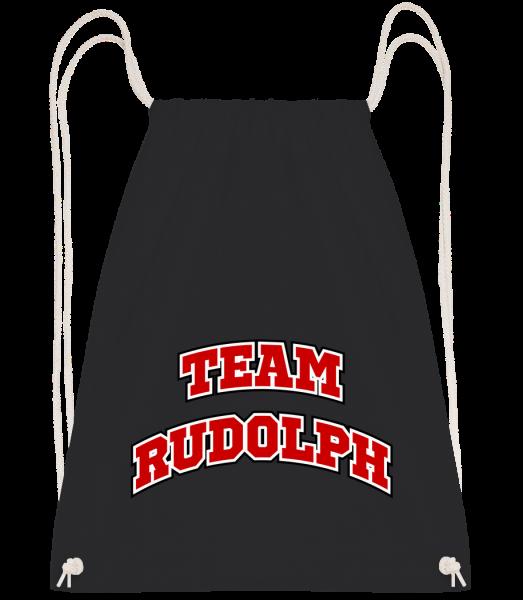 Team Rudolph - Drawstring Backpack - Black - Vorn