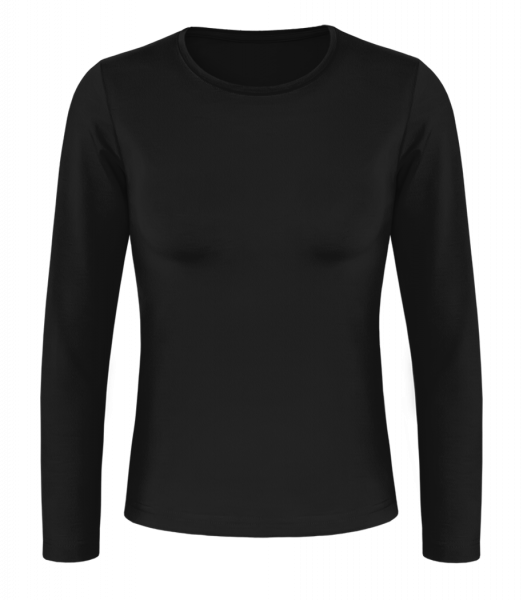 Women's Basic Longsleeve - Black - Vorn