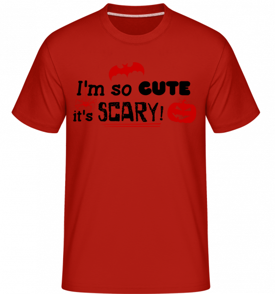 So Cute It's Scary - Shirtinator Men's T-Shirt - Red - Vorn