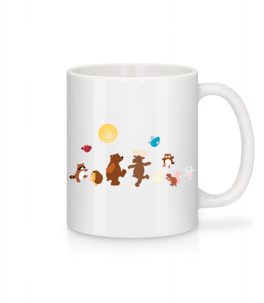 Baby Animal Party - Mug - White - Vorn