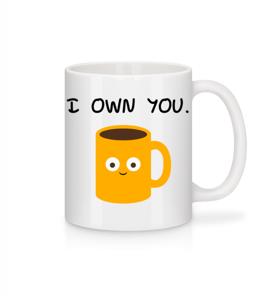 I Own You Coffee - Mug - White - Vorn