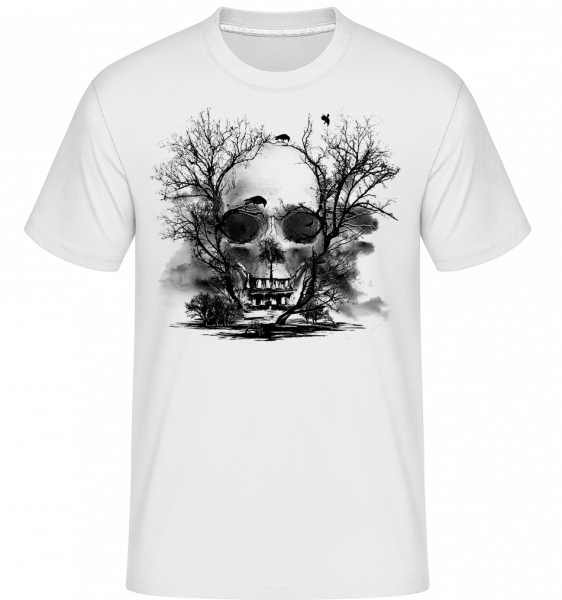 Death Trees - Shirtinator Men's T-Shirt - White - Vorn