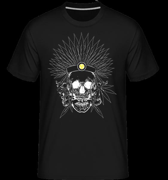 Skull Tattoo -  Shirtinator Men's T-Shirt - Black - Vorn