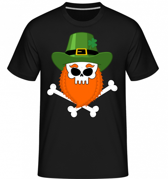 Irish Skull - Shirtinator Men's T-Shirt - Black - Vorn