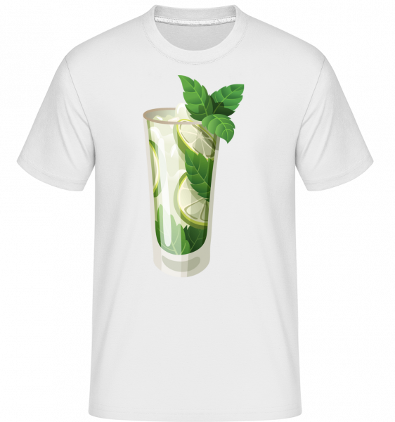 Cocktail - Shirtinator Men's T-Shirt - White - Vorn