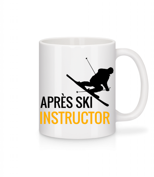 Après Ski Instructor - Mug - White - Vorn