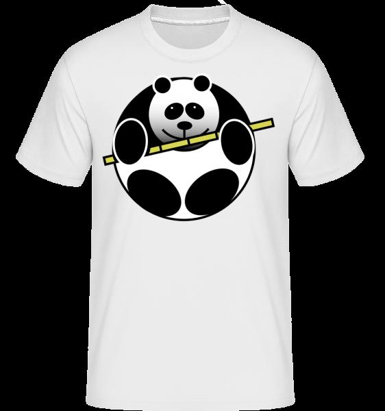 Panda Comic - Shirtinator Men's T-Shirt - White - Vorn