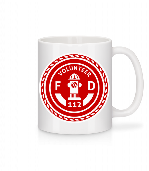 Volunteer FD - Mug - White - Vorn