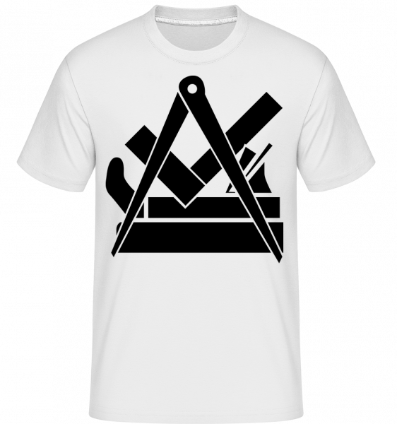 DIY Icon - Shirtinator Men's T-Shirt - White - Vorn