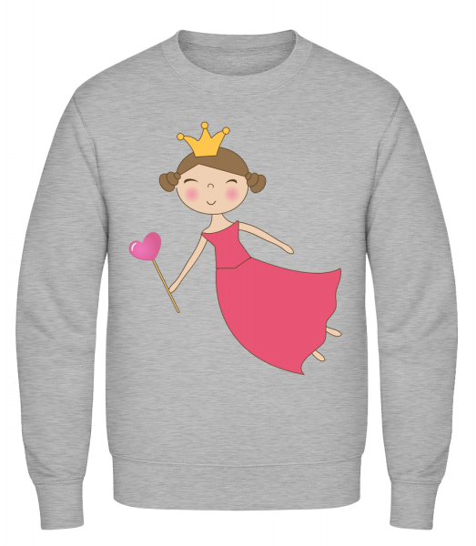 Fairy Kids Comic - Classic Set-In Sweatshirt - Heather Grey - Vorn
